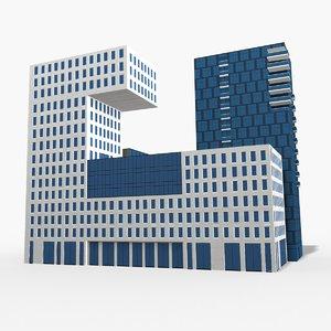 3D model klp-bygget modeled scenes