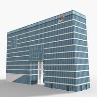 pwc-bygget modeled scenes 3D model