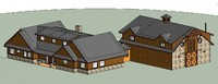 custom home 3D model