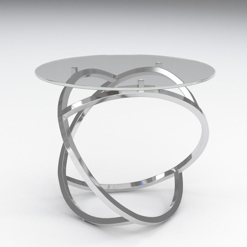 3D curl table libra