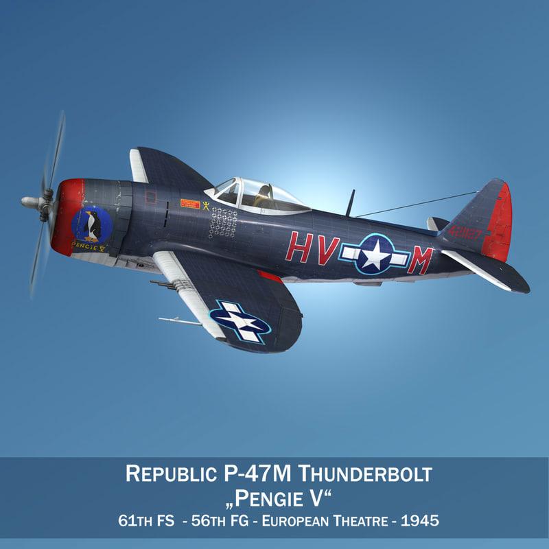 3D republic thunderbolt - pengie