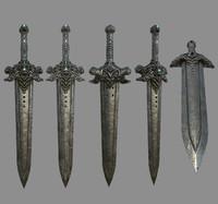 devil sword 3D model