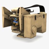 kongsberg crows 3D model