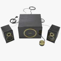 Speakers 2.1 SVEN MS-1085 Gold