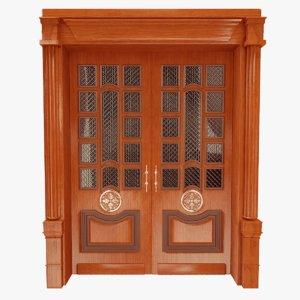 wooden doors 3D