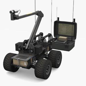 robot marcbot 3D model