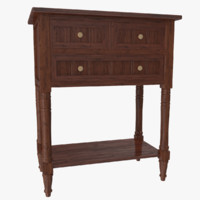 Drawer Console Table