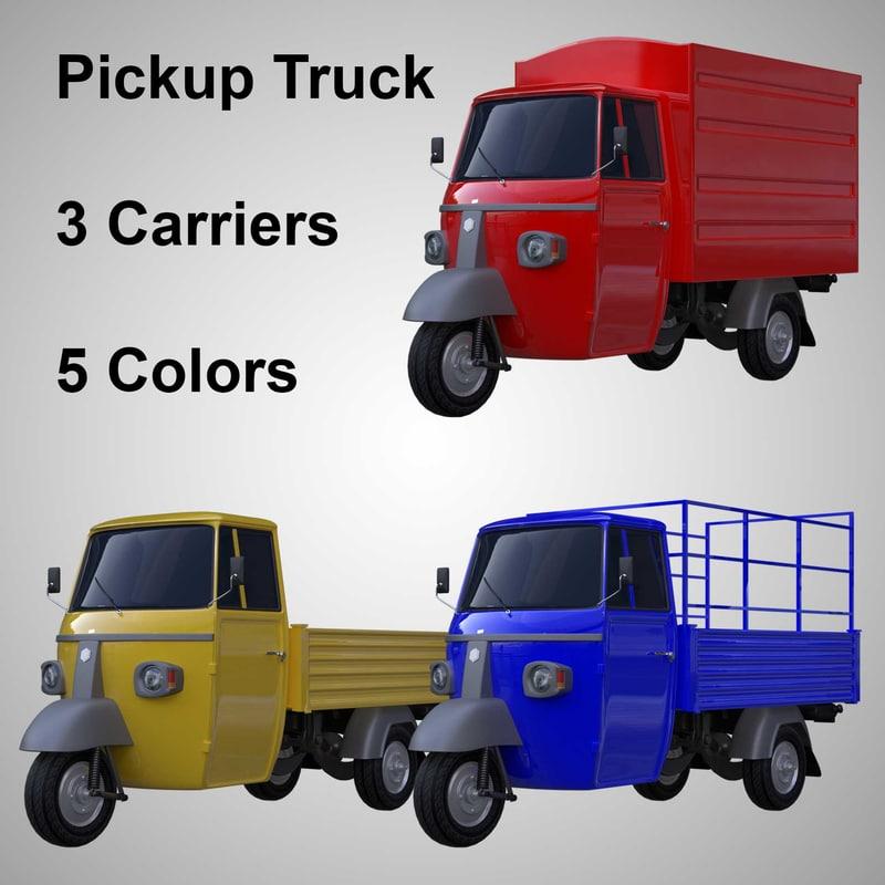 piaggio truck model