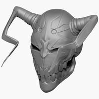 3D bleach mask