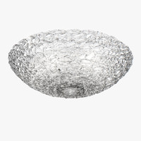 chandelier 603070 murano lightstar 3D