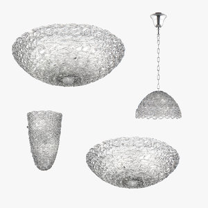 3D chandelier murano lightstar model