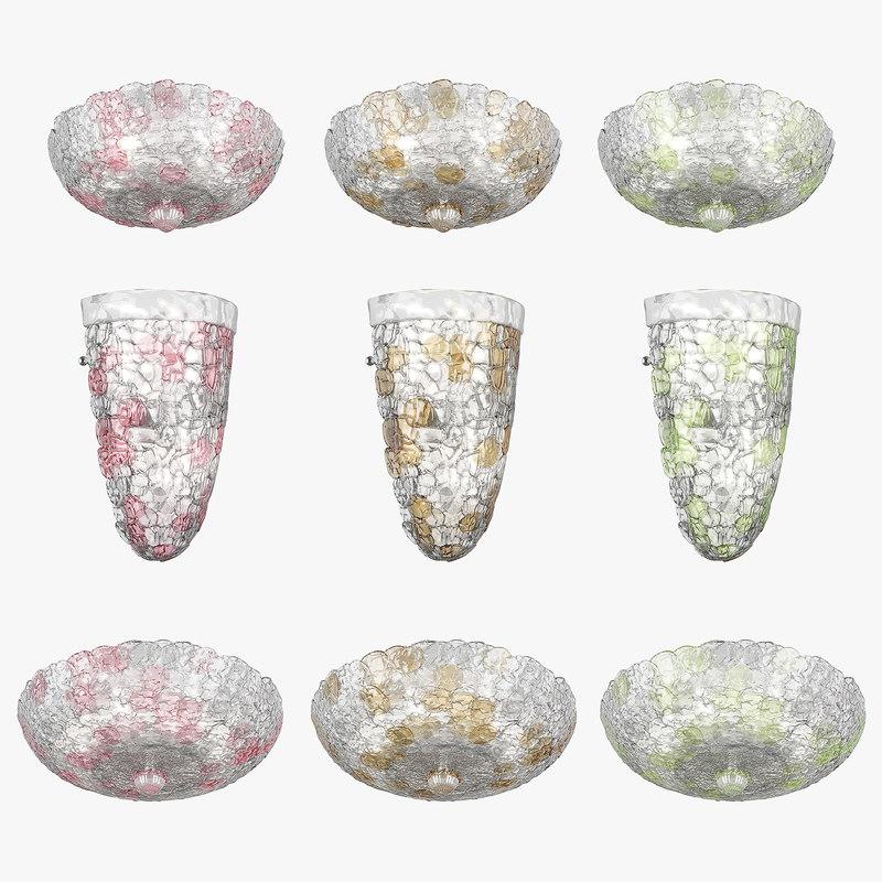 3D chandelier murano lightstar