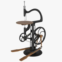 victor seneca scroll saw 3D