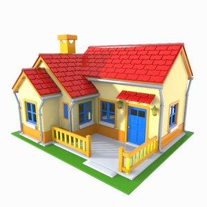 3D house toon