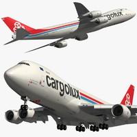 boeing cargolux 3D