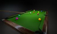 billiard billiards 3D model