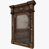old mirror 3D