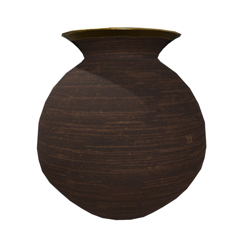 3D model ceramic small vase