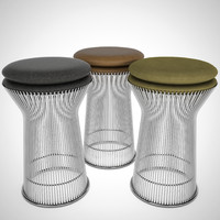 warren platner stools 3D model