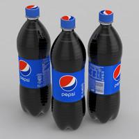pepsi beverage 3D model