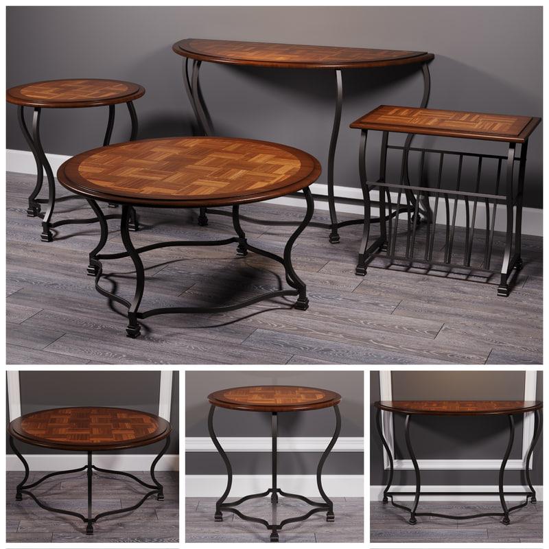 3D model tables wycliffe