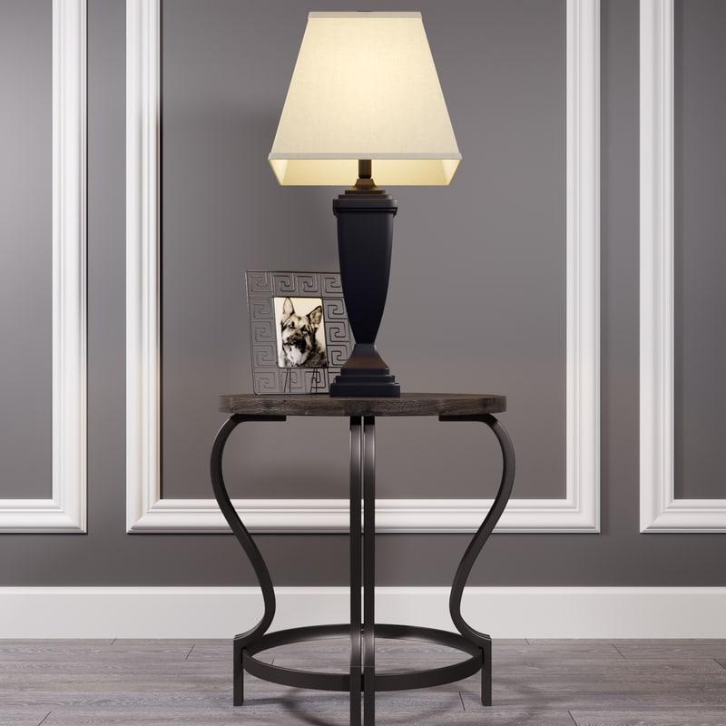 ashley table volanta lamp 3D