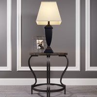 Table Volanta with lamp Amerigin