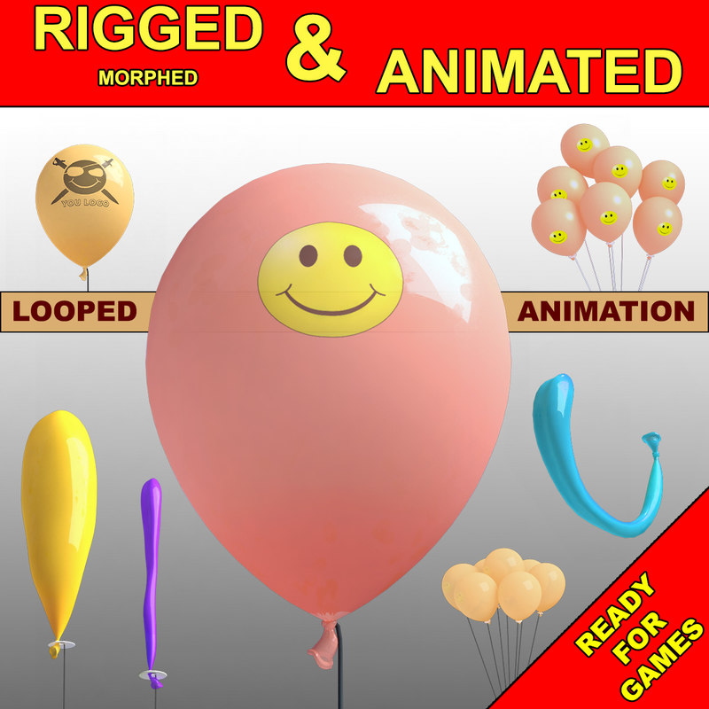 3D animations fly