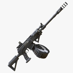 3D shotgun vepr