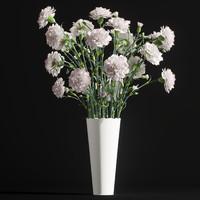 cornation bouquet 3D model