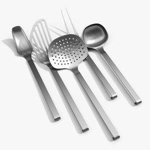 kitchen tools model