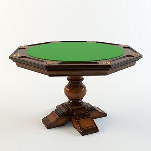 poker table hooker furniture model