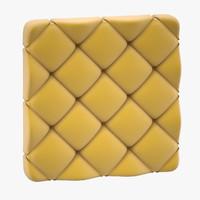 capitone panel decor 3D