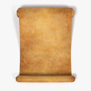 3D scroll