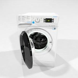 indesit waching machine 3D model