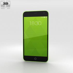 meizu m1 green model