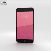 3D meizu m1 pink