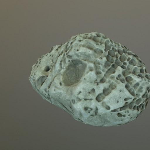 3D model beach rock