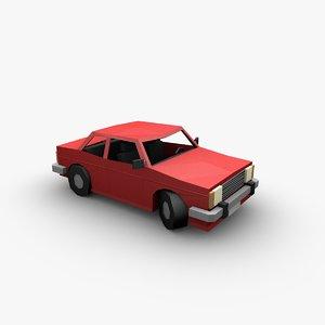 3D car paper