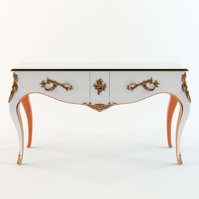 roche bobois console table 3D model