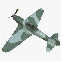 yakovlev yak 9 yak-9 3D model