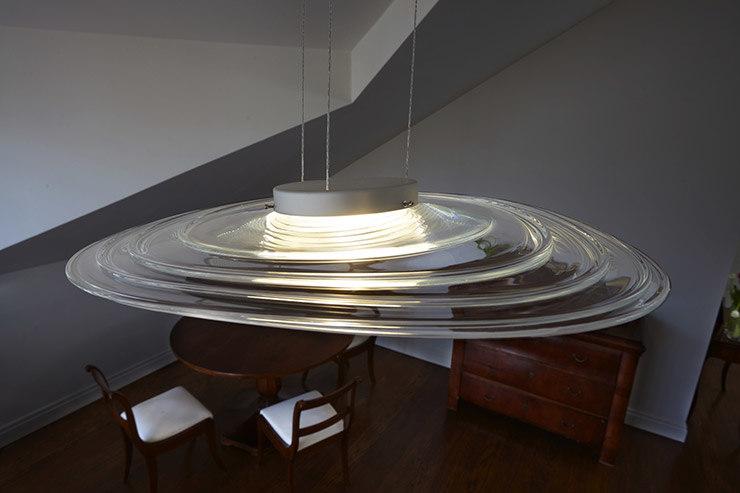 plan9 lamp - glass 3D model