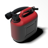 3D gas gasoline model