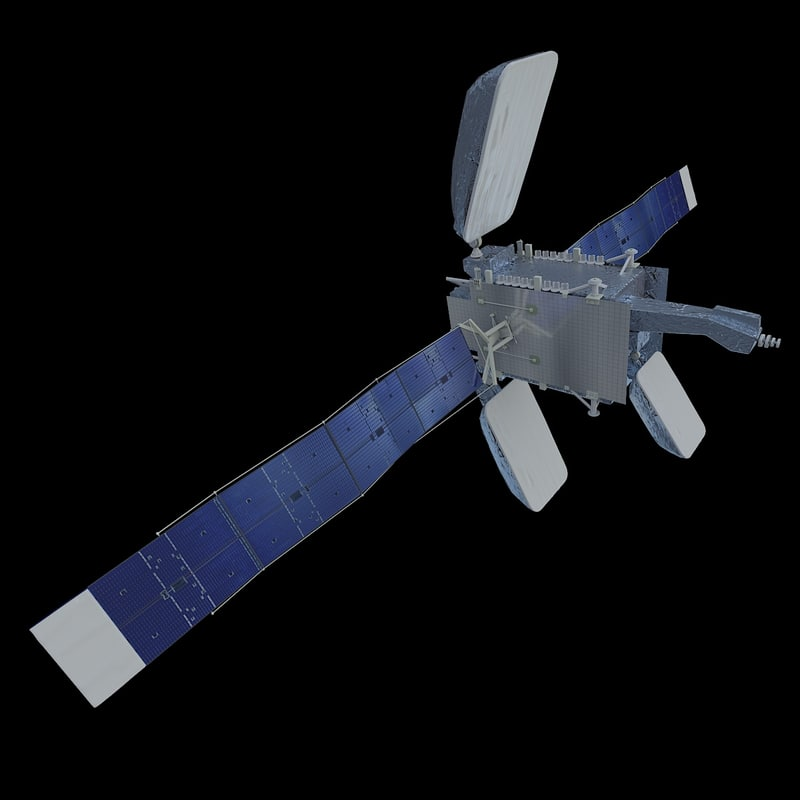 3D satelite azerspace-1