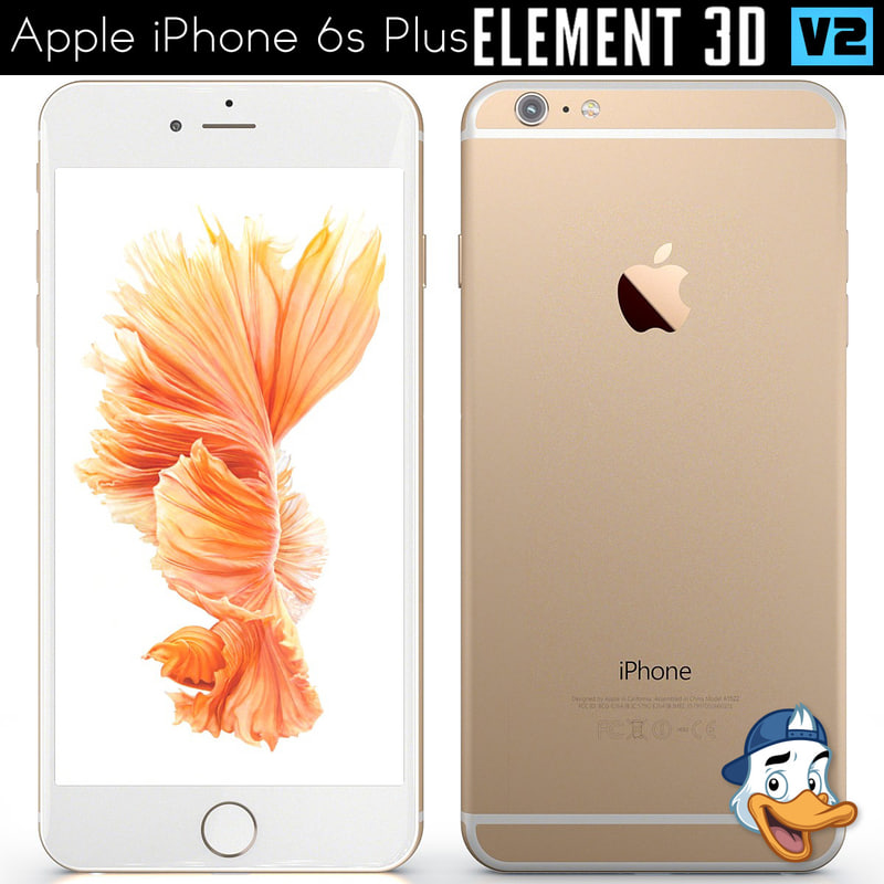 apple iphone 6s 3D