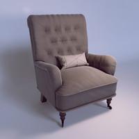 Ellery Tufted Club Chair