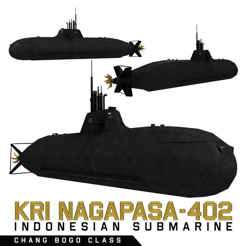 submarine changbogo class model