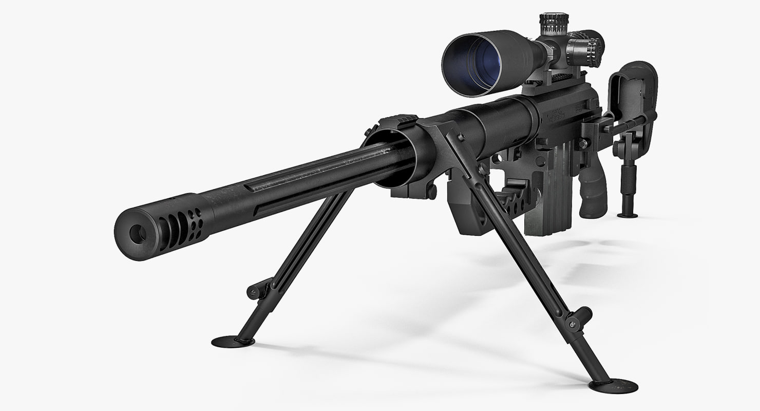 Sniper Rifle CheyTac Intervention M200