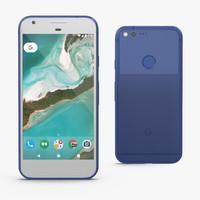 3D google pixel xl phone