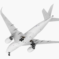 airbus a350-800 generic 3D model